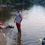 Corpo de Bombeiros resgata adolescente  que morreu afogado após  duas horas de  buscas