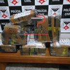Ação  conjunta da Polícia Civil, Militar e PRF resulta na apreensão  de 155 kg de maconha e irmão de Prefeita afastada também  é  preso em Rondônia.