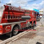 hauahuahauhauhauahhauhauahuahuahauhuCorpo de Bombeiros age rápido e evita que incêndio  virasse tragédia