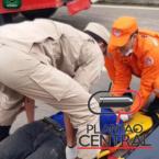 Ciclista idoso morre após  ser atropelado por motocicleta