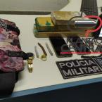 Ação  conjunta da Polícia Civil  e Policia Militar resulta na apreensão  de 2,5 kg de maconha