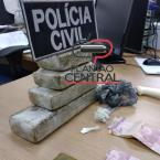 Polícia Civil  prende candidato a vereador com 1 kg de maconha na cueca e Operação  termina com 3 kg de droga apreendida confira