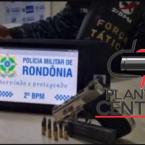 hauahuahauhauhauahhauhauahuahuahauhuForça Tática  prende dupla armada com pistola no Val Paraíso