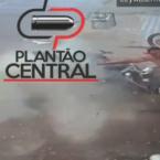 hauahuahauhauhauahhauhauahuahuahauhuImagens forte! Veja o vídeo  que  Militar morre ao bater de motocicleta  violentamente em muro