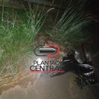 hauahuahauhauhauahhauhauahuahuahauhuMotociclista morre ao perder controle da direção da motocicleta e bater em Guard rail  próximo ao Rio Urupá