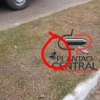 hauahuahauhauhauahhauhauahuahuahauhuGuarnição de Rádio Patrulha localiza tornozeleira  de apenado que poder ter praticado homicídio em Urupá