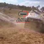 hauahuahauhauhauahhauhauahuahuahauhuPoliciais Militares saem ilesos após viatura capotar na BR em Rondônia