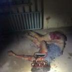 hauahuahauhauhauahhauhauahuahuahauhuMonstro! Homem espanca própria  esposa a marretadas e tenta enterrar no quintal na frente dos filhos, imagens fortes