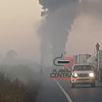 hauahuahauhauhauahhauhauahuahuahauhuVeja vídeo! Caminhão petroleiro e ônibus  pegam fogo apos colisão  na BR 364, próximo  a Itapuã