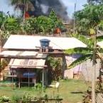 hauahuahauhauhauahhauhauahuahuahauhuCasa e carro são destruídos pelo fogo após um possível vazamento de gás