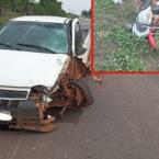 hauahuahauhauhauahhauhauahuahuahauhuMotociclista morre após ser colididos por Pick UP em Rodovia na zona da mata