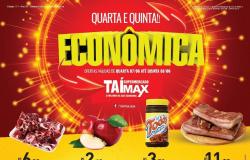 Supermercado Taí Max lança Quarta e Quinta econômica confira.