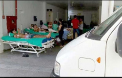 >É desumano, criminoso, uma tragédia sem igual>, diz Hermínio sobre pacientes na garagem do João Paulo II