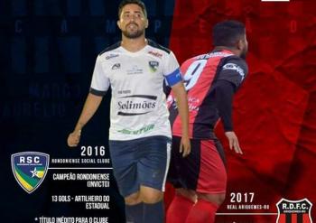 Atacante Marco Aurélio Bi-Campeão em Rondônia  é o novo reforço do Ji-Paraná confira.