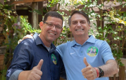 Coronel Marcos Rocha, do PSL, é eleito governador de Rondônia.