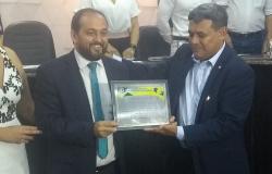 Presidente da Assembleia Legeslativa Laerte Gomes é homenageado com título de cidadão honorário.