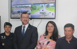Investimento! Município de Urupá recebe sistema de Vídeo monitoramento através de emenda do Deputado Edson Martins.