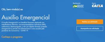CAIXA DIVULGA APLICATIVO E SITE PARA SOLICITAR O AUXÍLIO EMERGENCIAL DE R$ 600