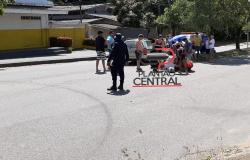 Motociclista  com sinais de embriaguez  avança preferencial e colide em veículo em Ji-Paraná
