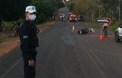 Motociclista  morre ao colidir na traseira de outra moto na RO 135