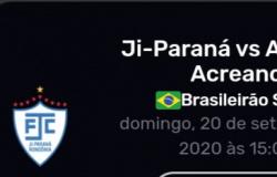 Acompanhe ao vivo Ji-Paraná FC x Atlético  Acreano