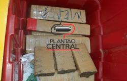 Polícia apreende mais 10 kg de maconha após jovem ser preso em Ji-Paraná