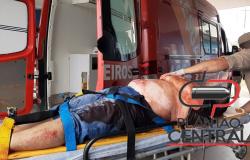Urgente! Homem é  socorrido  em estado grave, após  ser baleado no bairro Nova Brasília