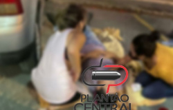 Empresário  de Ji-Paraná é  socorrido após ser atropelado  por veículo em pátio de posto