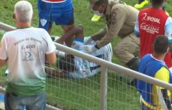 Jogadores do Ji-Paraná trocam socos na Série D e PM precisa intervir com spray de pimenta