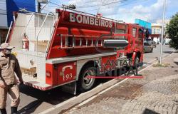 Corpo de Bombeiros age rápido e evita que incêndio  virasse tragédia