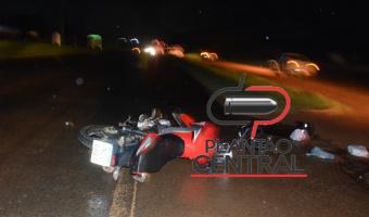 Motociclista morre após  ser fechado por carreta na BR 364