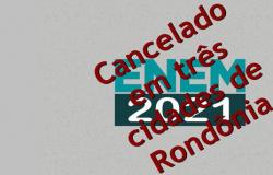 Três cidades de Rondônia cancelam a realização das provas do Enem