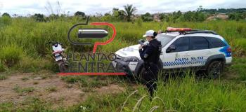 Polícia Militar através do  Pelotão  de trânsito  recupera motoneta em Ji-Paraná