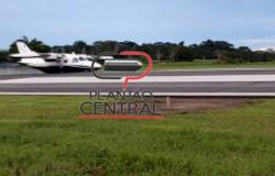 Veja video! Avião  com ex Deputado Airton Gurgacz faz aterrisagem forçada  no Aeroporto  em Ji-Paraná