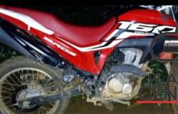 Policia Militar  age rápido e recupera motocicleta furtada na zona rural