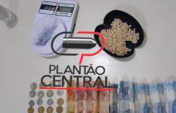 Polícia Militar  faz nova apreensão  de  drogas em uma boca de fumo fechada há  15 dias pela mesma Guarnição