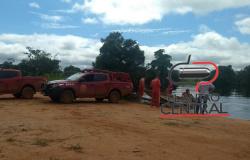 Corpo de Bombeiros de Ji-Paraná  localiza e resgata corpo de homem desaparecido no Rio São Miguel