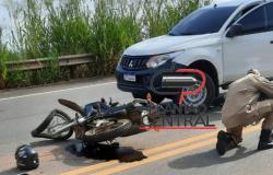 Colisão  entre motocicleta e Veiculo resulta em uma morte na BR 364
