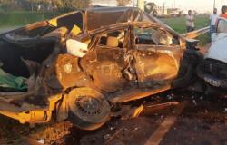 Motorista de aplicativo morre após  colisão  na BR 364