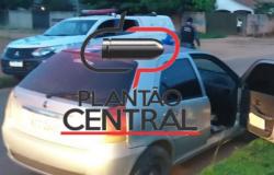Força Tática prende homem e recupera veículo com registro de roubo ou furto