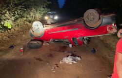 Adolescente de 17 anos morre após capotar Pick up na zona rural