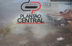 Imagens forte! Veja o vídeo  que  Militar morre ao bater de motocicleta  violentamente em muro