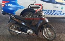 Polícia Militar recupera Honda Biz comprada em boca de fumo em Ji-Paraná e seria provavelmente  levada para a Bolívia
