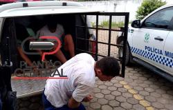 Guarnição de Rádio Patrulha recaptura três  apenados que fugiram na manhã  deste sábado do Presídio Agenor Martins de Carvalho