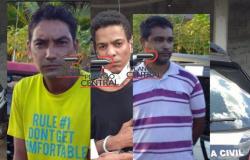 Polícia Civil  prende os três suspeitos de homicídio onde deceparam a cabeça  da vítima  em Presidente Médici