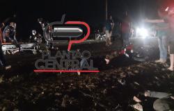Acidente fatal 4 pessoas morrem após  colisão  frontal entre duas motocicletas na RO 133