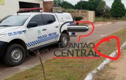 Guarnição de Rádio Patrulha localiza tornozeleira  de apenado que poder ter praticado homicídio em Urupá