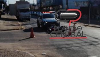 Pelotão de Trânsito registra mais um acidente após motorista invadir preferencial