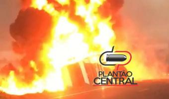 Video exclusivo mostra o desespero dos sobreviventes da explosão  entre caminhão petroleiro e ônibus próximo a Itapuã