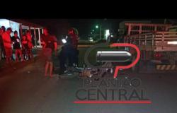 Motociclista morre no Hospital Municipal após colidir em caminhão estacionado